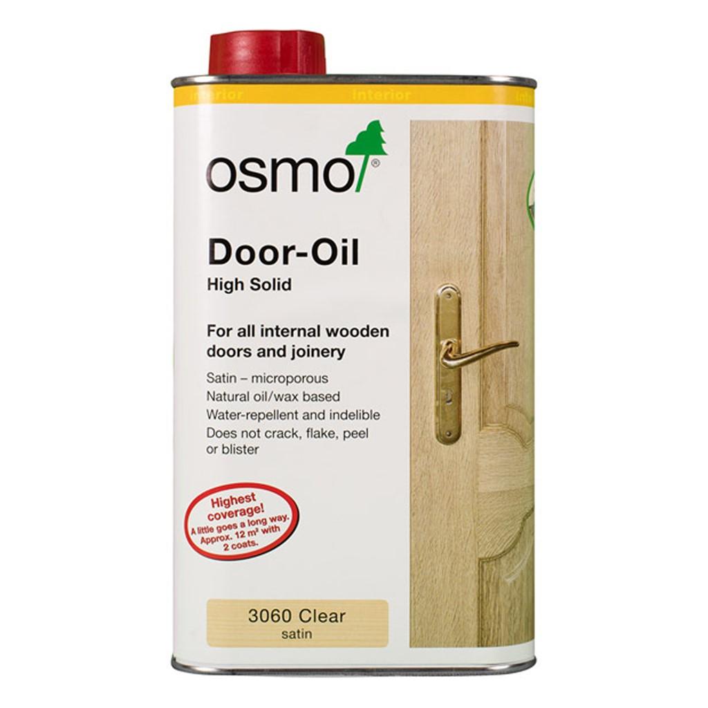 osmo door oil clear satin 3060 internal door oil 1l. Black Bedroom Furniture Sets. Home Design Ideas